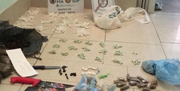 Desarticulan La Banda del Chino: vendían droga en Villa Zavaleta